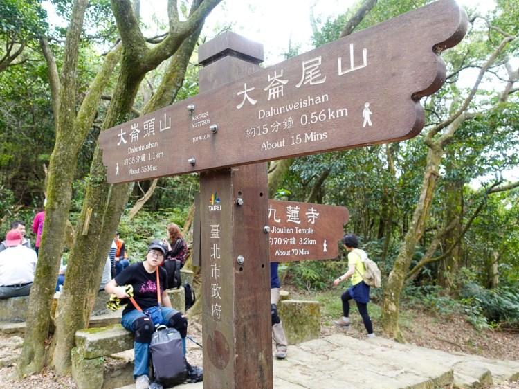 台北健行登山推薦內湖山背脊、金面山稜線縱走大崙頭山台灣小百岳