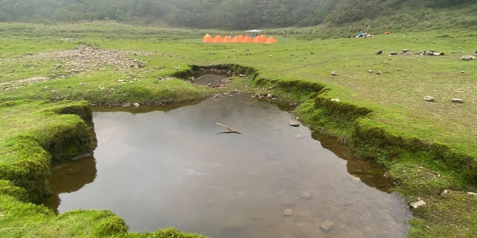 宜蘭松蘿湖單攻一日來回勇腳帶淚 十七歲少女湖面貌只能用驚心動魄形容