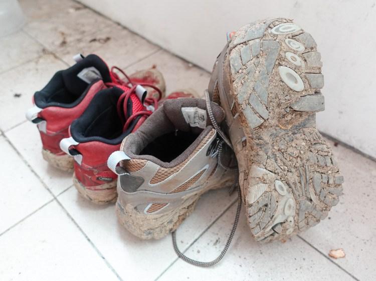 登山鞋的清潔與保養 這樣洗登山鞋補強防撥水跟新的一樣