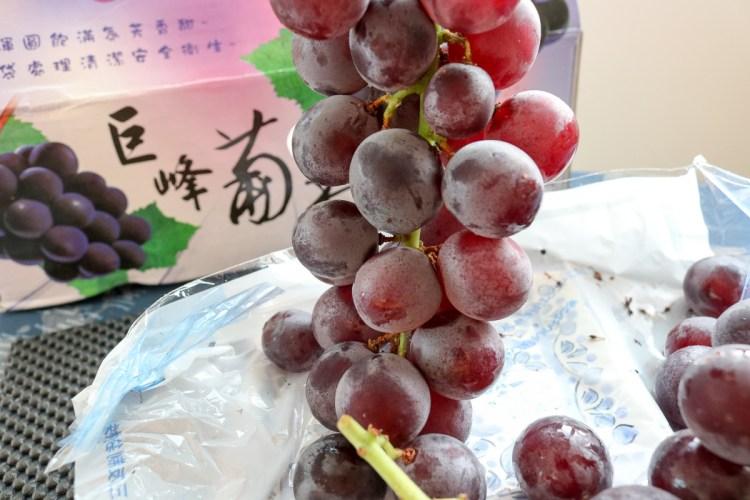 團購美食巨峰葡萄 在苗栗卓蘭喝牛奶長大怕酸者的最愛