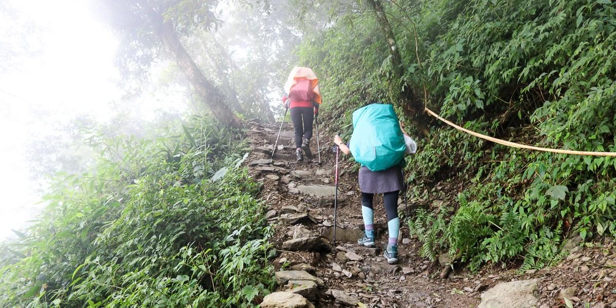 郊山中級山百岳背包裝備檢查表 老蝦行前通知公版