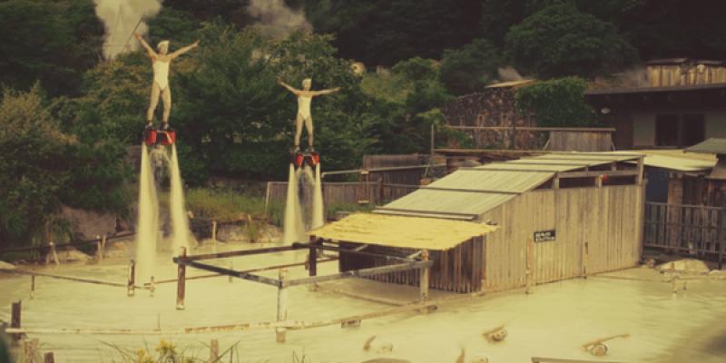 日本。大分縣 Oita SHINFURO Synchronized Swimming in Hot Springs