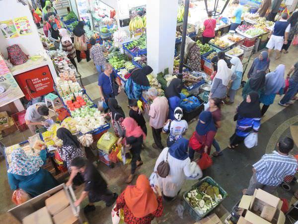 《新加坡》芽籠士乃市場  Geylang serai market 新加坡最大的馬來市場