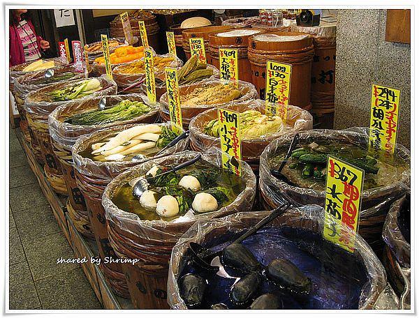 賞花遊日本 Day2-享受京都的台所(廚房):錦市場
