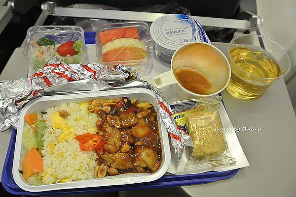 奇幻印度 馬來西亞航空 國際線往印度清奈 飛機餐