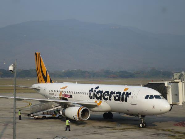 泰國清邁。台灣虎航。TigerAir Taiwan 清邁國際機場 CNX。20150803停飛