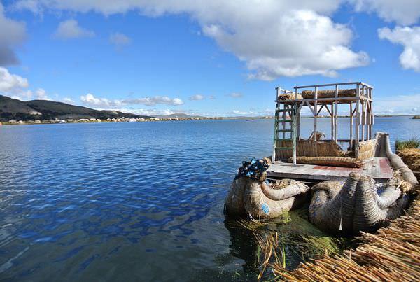 祕魯普諾蘆葦島一日。的的喀喀湖。part1 恍若天空之城