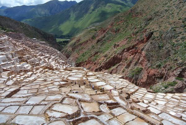 祕魯庫斯科。半日遊。Maras。鹽田。海鹽自山頂哪兒來?