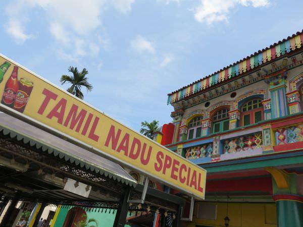 《新加坡》小印度。Little India。竹腳中心。宛若置身印度