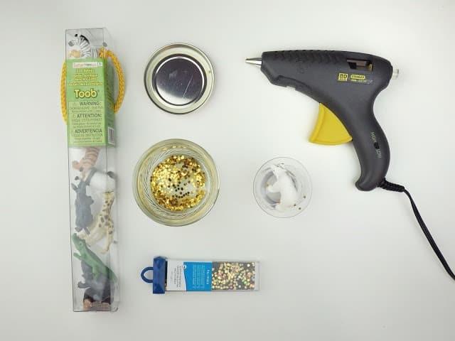 自製玩具 金蔥雪花球準備工具 DIY Glitter Globe