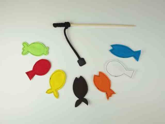 DIY 玩具 毛氈釣魚玩具 DIY Felt Fishing Toy