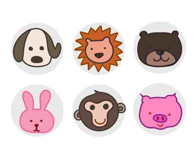 DIY自製紙箱玩具 紙箱圖卡配對動物