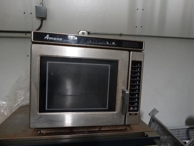used amana rc22s commercial microwave oven