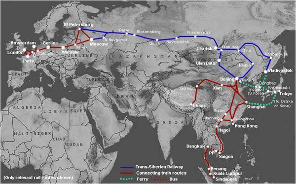睡進俄羅斯─西伯利亞大鐵路之旅