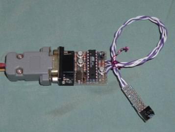 89S51/52燒錄器 - 透過RS232及89C2051燒錄