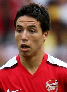 Samir Nasri top form at Arsenal