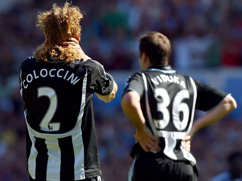 Coloccini & Viduka; relegation and their exit could be a blessing in disguise for Newcastle.