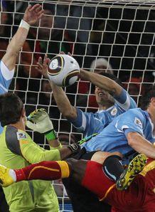 Fifa probes Suarez handball