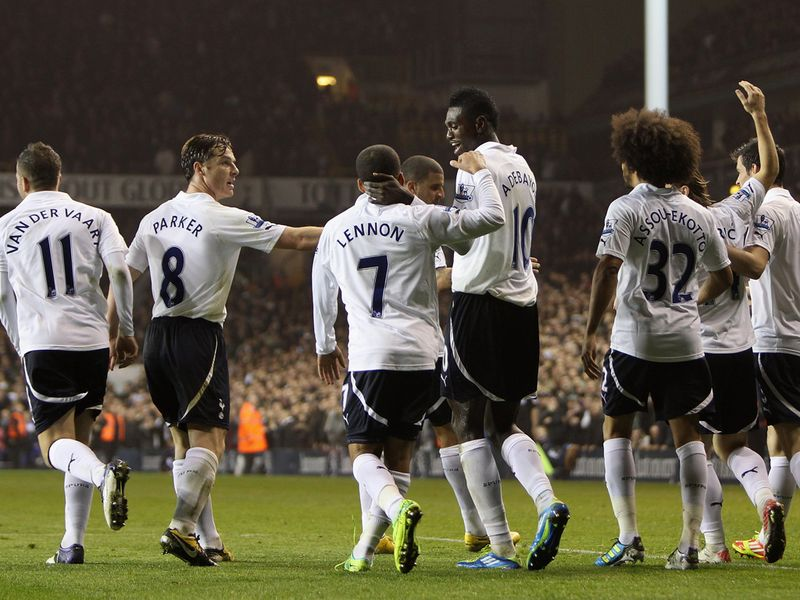 Tottenham Celebrating
