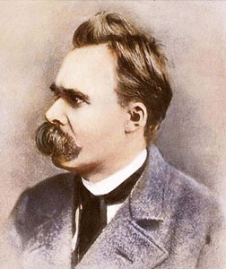 Friedrich Nietzsche. Click image to expand.