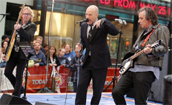 R.E.M. performs in 2008 on the 'Today' show. Click image to expand.