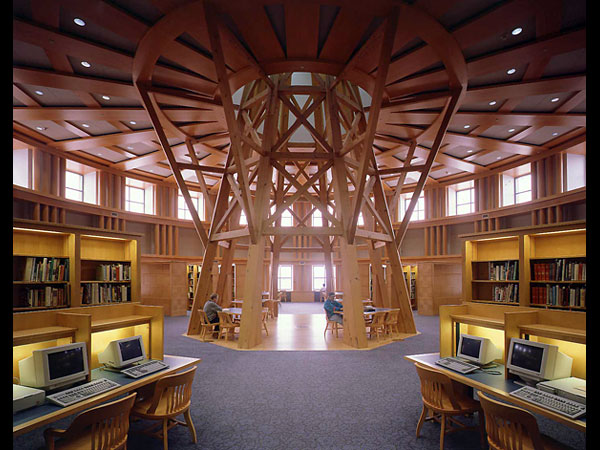 Denver Public reading room