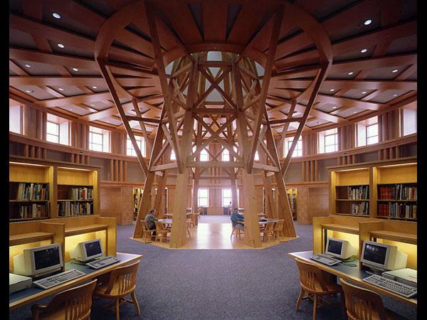 Denver Public reading room