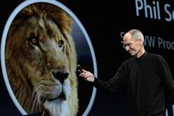 Steve Jobs introduces iCloud.