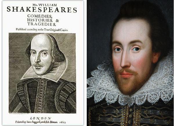 William Shakespeare portraits