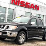 Used 2012 Nissan Frontier Sl 4x4 Crew Cab 202 Bi Weekly At Saint John Nissan Cc407503