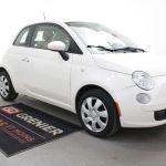 Used 2013 Fiat 500 Bluetooth Regulateur De Vitesse Air Climatise White 99 377 Km For Sale 4770 0 Grenier Chevrolet Buick Gmc Vp19 995