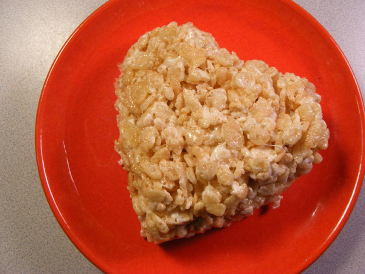 individual rice krispie treat microwave