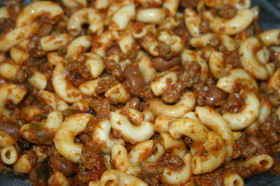 Crock Pot Chili Mac Recipe Genius Kitchen