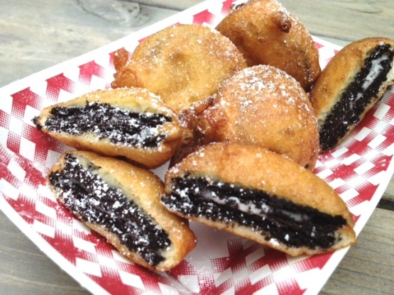 Image result for deep fried oreos