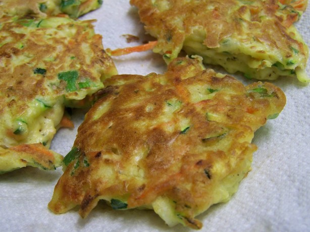 Vegetable Fritters Recipe