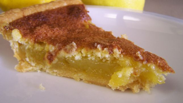 Virginia: Lemon Chess Pie