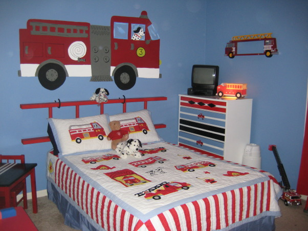 Toddler Boy Room Ideas Trucks Novocom Top