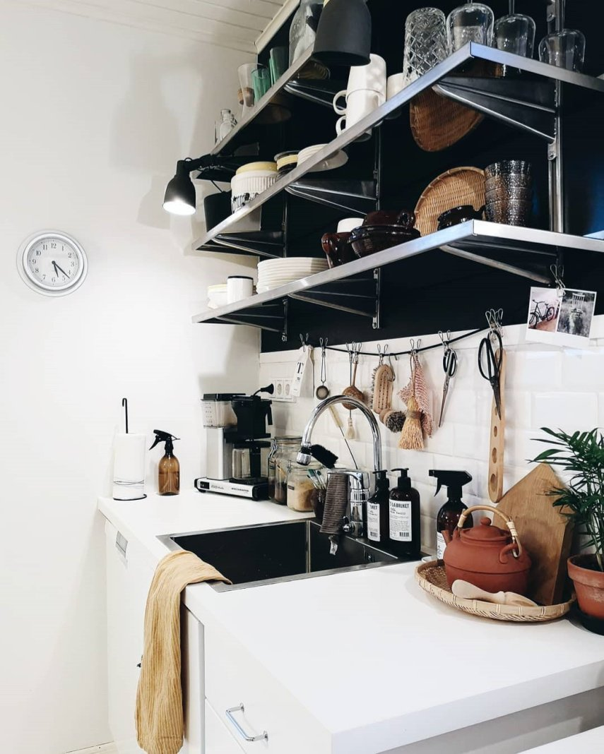 60+ Small Kitchen Design Ideas  To Make Your Home More Awesome, #KitchenDesigns, #KitchenDesignIdeas