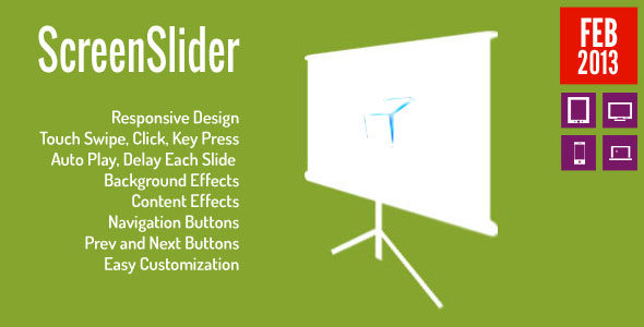 Screen Lider-Responsive-Touch-Presentation