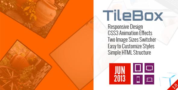 TileBox - Modern Responsive LightBox CSS