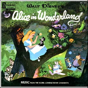 Image result for alice in wonderland 1951 soundtrack