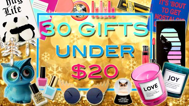 Funny Secret Santa Gifts Under $20