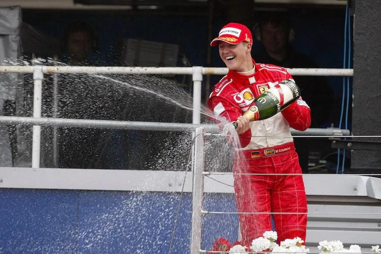 cei mai influenți sportivi Michael Schumacher