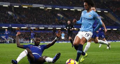 Premier, Chelsea vuela con Kanté y David Luiz: Manchester City ko