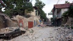Rue du centre-ville de Jacmel, dévastée par le séisme