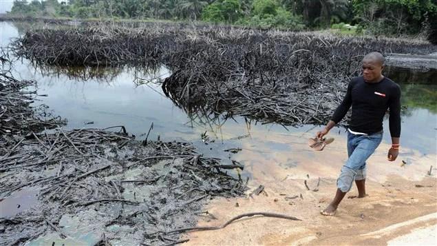 Marée noire au Nigeria