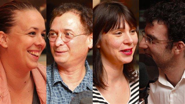 Martine Desjardins, Normand Baillargeon, Annie Desrochers et Akos Verboczy ©Radio-Canada/Marie-Sandrine Auger