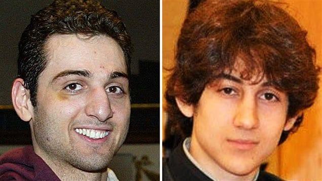 Les frères Tamerlan Tsarnaev, à gauche, et Dzhokhar Tsarnaev, sont les deux suspects de l'attentat du marathon de Boston.
