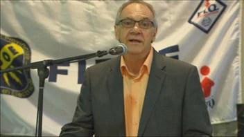 Le président du Syndicat des employés de garages du Saguenay-Lac-Saint-Jean, Georges Bouchard