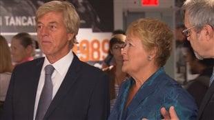 Pauline Marois et son mari Claude Blanchet